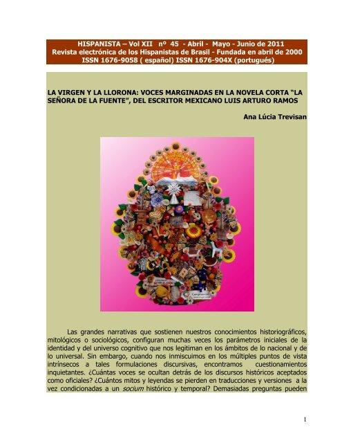 1 HISPANISTA – Vol XII nº 45 - Abril - Mayo - Junio de 2011 Revista ...