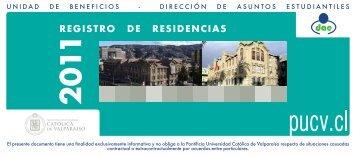 REGISTRO DE RESIDENCIAS - Altavoz