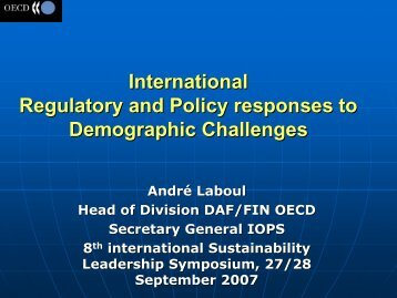 Presentation PDF - The Sustainability Forum
