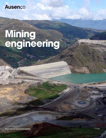 mining engineering brochure - Ausenco