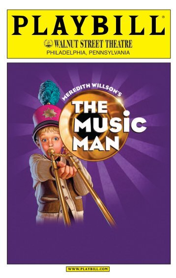 The Playbill - Walnut Street Theatre