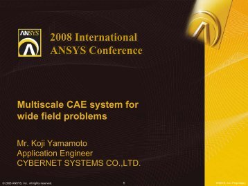 C - Ansys
