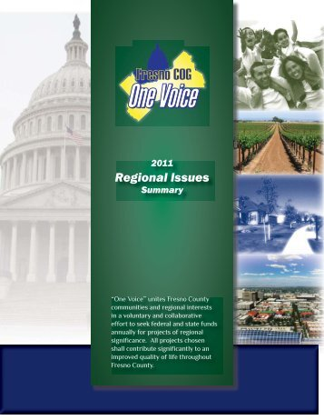 Regional Issues - Council of Fresno County Governments