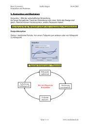 5. Kapitel Konjunktur und Wachstum - zweiterstock.ch