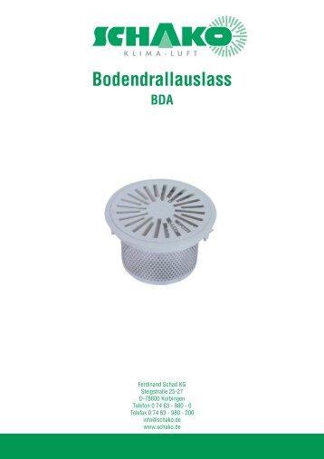 Bodendrallauslass - Schako
