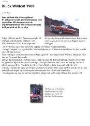 Buick Wildcat 1965 - Usabil.nu