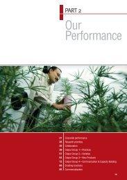 Our Performance - Grains Research & Development Corporation