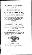 testaments. - Koninklijke Bibliotheek - Page 3