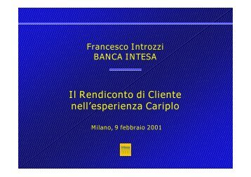 Francesco Introzzi - APB