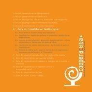 6- Área de consolidación institucional. - Consello Galego de ...