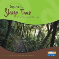 Sledge Track Brochure - Palmerston North City Council