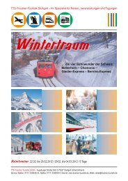 Glacier-Express – Bernina-Express - Trautner-Touristik GmbH