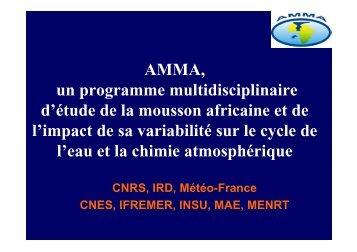 AMMA du LTHE - AMMA-CATCH