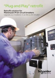 Masterpact M Plug & Play - Schneider Electric