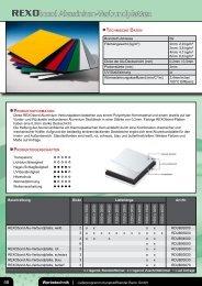Katalog Werbetechnik - Kunststoffhandel Rexin