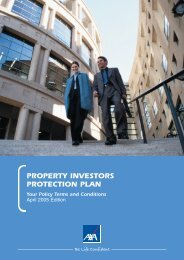 Property Investors Protection Plan policy document (PDF)
