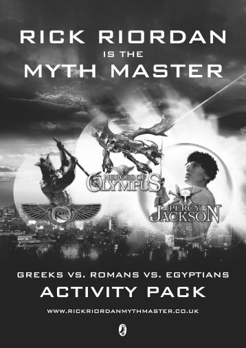 Rick Riordan Myth Master Resource Pack - Percy Jackson