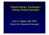 Paired Kidney Exchange / Kidney Paired Donation - Beaumont ...