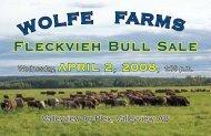 Wolfe Farms catalog.indd - Transcon Livestock Corporation
