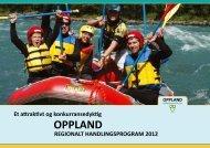 Regionalt handlingsprogram 2012 - Oppland fylkeskommune