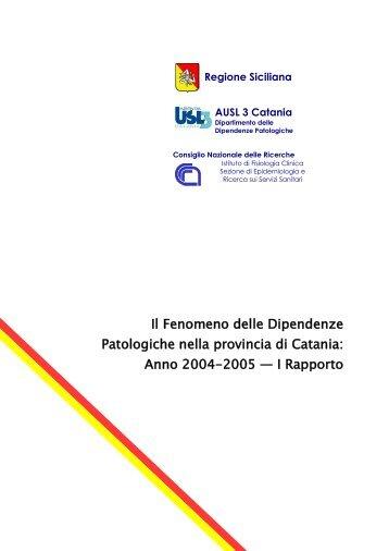 Anno 2004-2005 — I Rapporto - Epid.ifc.cnr.it