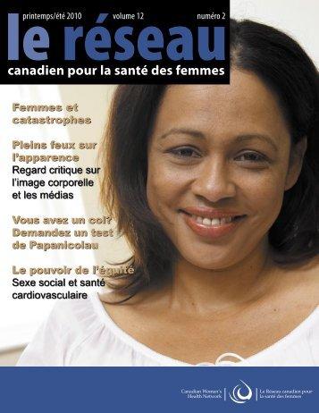 Network 2 FR.indd - Canadian Women's Health Network