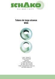 WDA Tobera de largo alcance - Schako