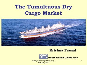 The Tumultuous Dry Cargo Market - SCLG