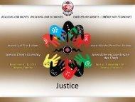 Justice - Assemblée des Premières Nations