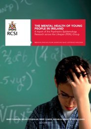 THE MENTAL HEALTH OF YOUNG PEOPLE IN IRELAND - MEAS.ie