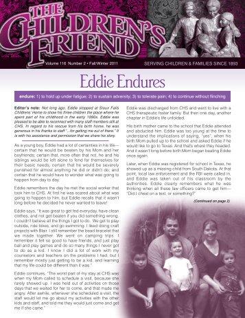 EddieEndures - Children's Home Society