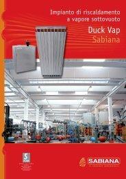 Duck Vap Sabiana - Certificazione energetica edifici