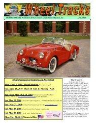 April 2010 - Vermont Automobile Enthusiasts