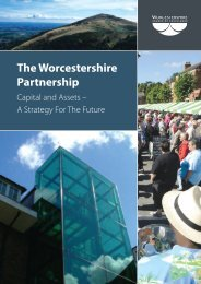 The Worcestershire Partnership - Worcestershire County Council