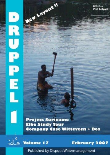 Druppel 17-1 - Dispuut Watermanagement