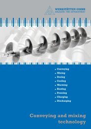 Conveying and mixing technology Conveying and mixing technology