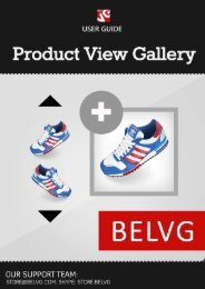 Product View Gallery User Guide - BelVG Magento Extensions Store
