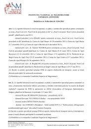 Hotarare 8_12_04_2011.pdf - Institutul Naţional al Magistraturii
