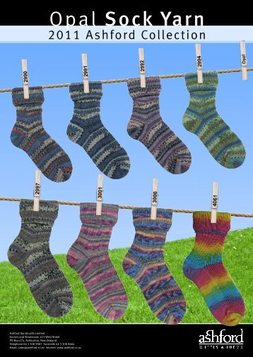 Opal Sock Yarn - Ashford Handicrafts