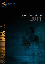 Winter Almanac - Swimming WA Results - Swimming Australia