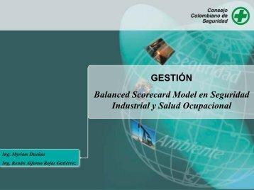 Balanced Scorecard Model en Seguridad Industrial y Salud ...