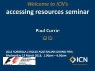 Paul Currie, Service Line Leader, Mining Engineering - ICN