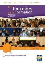 Newsletter JDF09 Aix en Provence - Fafiec