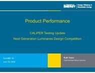 Caliper Update - Architectural SSL