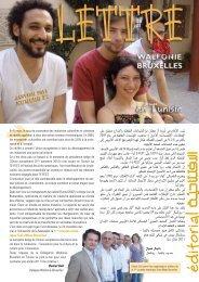 Lettre de la Délégation Wallonie-Bruxelles à Tunis - n°27 - WBI
