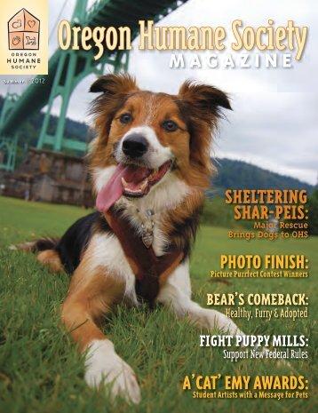 MAGAZINE - Oregon Humane Society