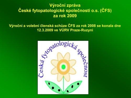 výroční zprávu za rok 2009