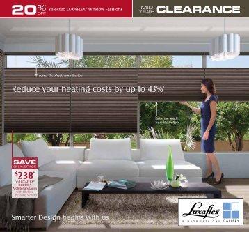 SAVE - Cairns Carpet One Floor & Home - Luxaflex