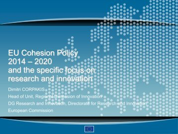 Horizon 2020 and Cohesion Policy