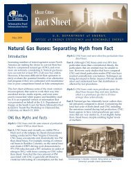Natural Gas Buses: Separating Myth from Fact